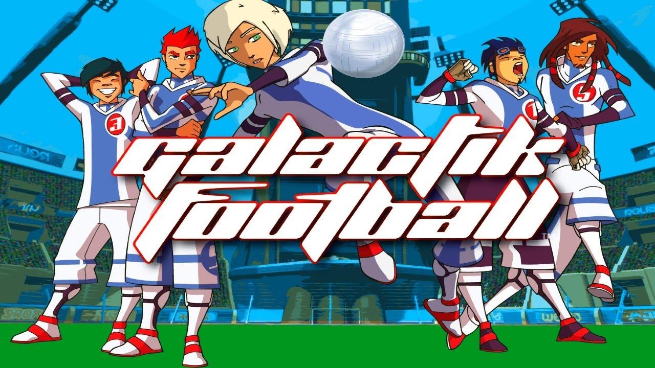 Галактический футбол (2 сезон) / galactik football (2 season) (2008) dvdrip screenshot